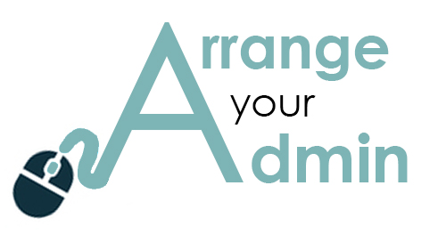 Virtual Administration Logo for Arrange Your Admin